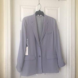Aritzia Babaton Demy blazer size M lilac grey